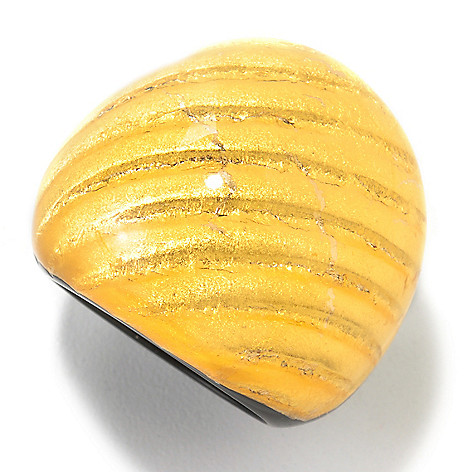 125-858 - Italian Designs with Stefano 24K ''Oro Puro'' Gold Foil & Resin Ring