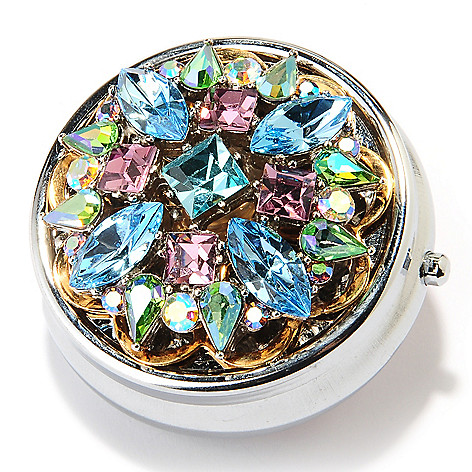 126-531 - Sweet Romance™ Crystal Embellished 1950's-Inspired Pill Box