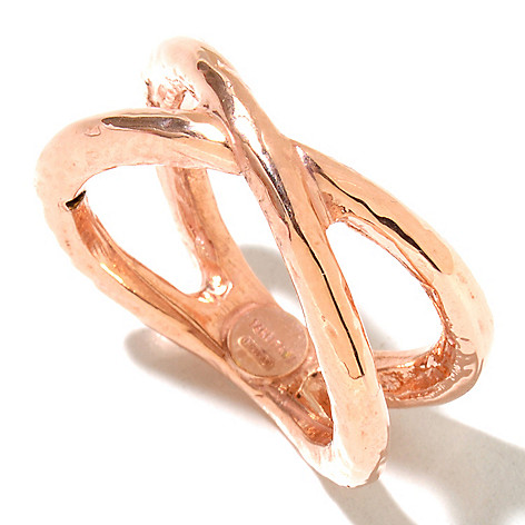 127-275 - Italian Designs with Stefano 14K ''Oro Vita'' Electroform Incontro Ring