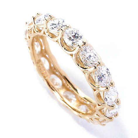 127-621 - Brilliante® 2.57 DEW East-West Simulated Diamond Eternity Band Ring