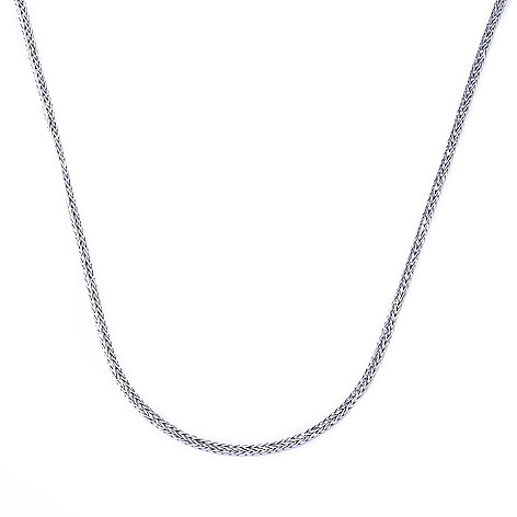 128-064 - Artisan Silver by Samuel B. Tulang Naga Chain Necklace, 11 grams