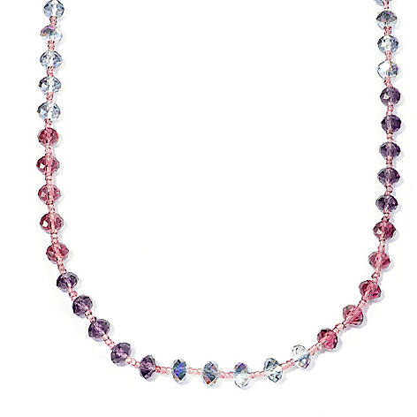 128-780 - Sweet Romance™ 60'' Continuous Glass Bead Necklace