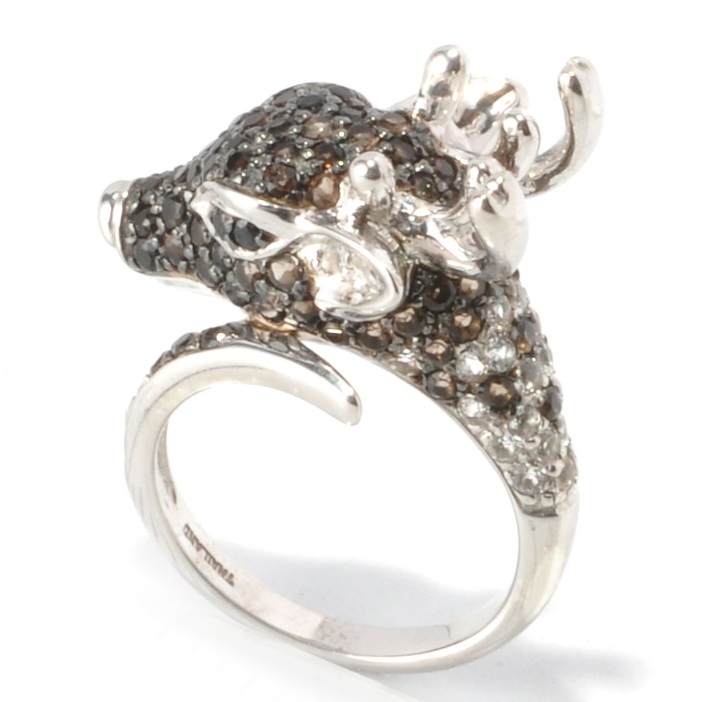 129-969 - NYC II 1.47ctw Multi Gemstone Reindeer Ring
