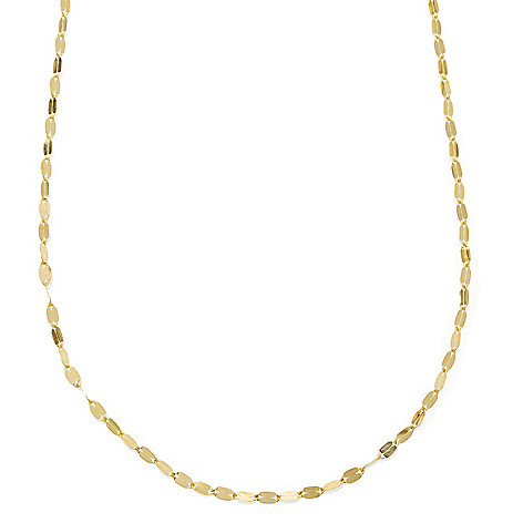 130-014 - Italian Designs with Stefano 14K Gold ''Petali D'Oro'' Necklace