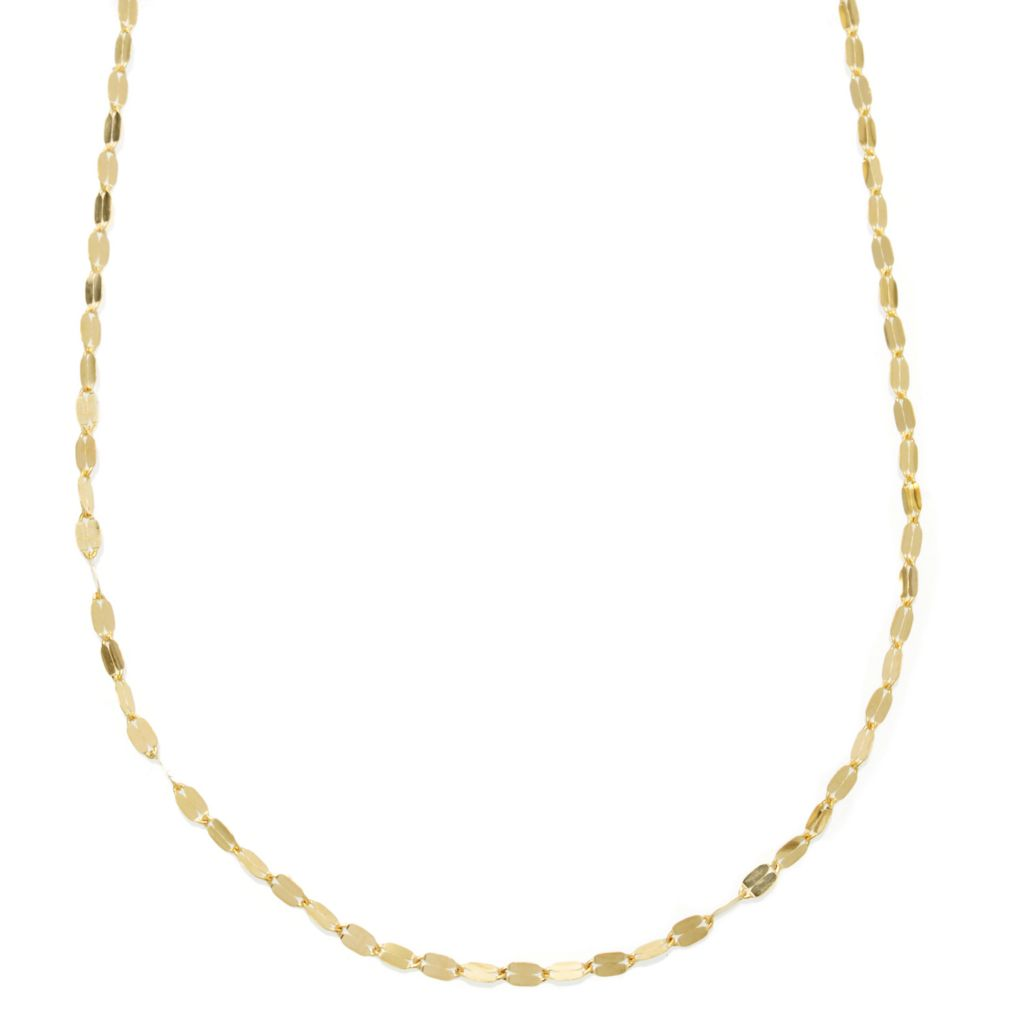 "130-014 - Italian Designs with Stefano 14K Gold ""Petali D'Oro"" Necklace"