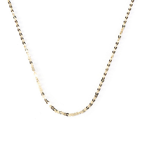 130-136 - Scintilloro™ Gold Embraced™ 20'' Heart Chain ''Cuore'' Necklace