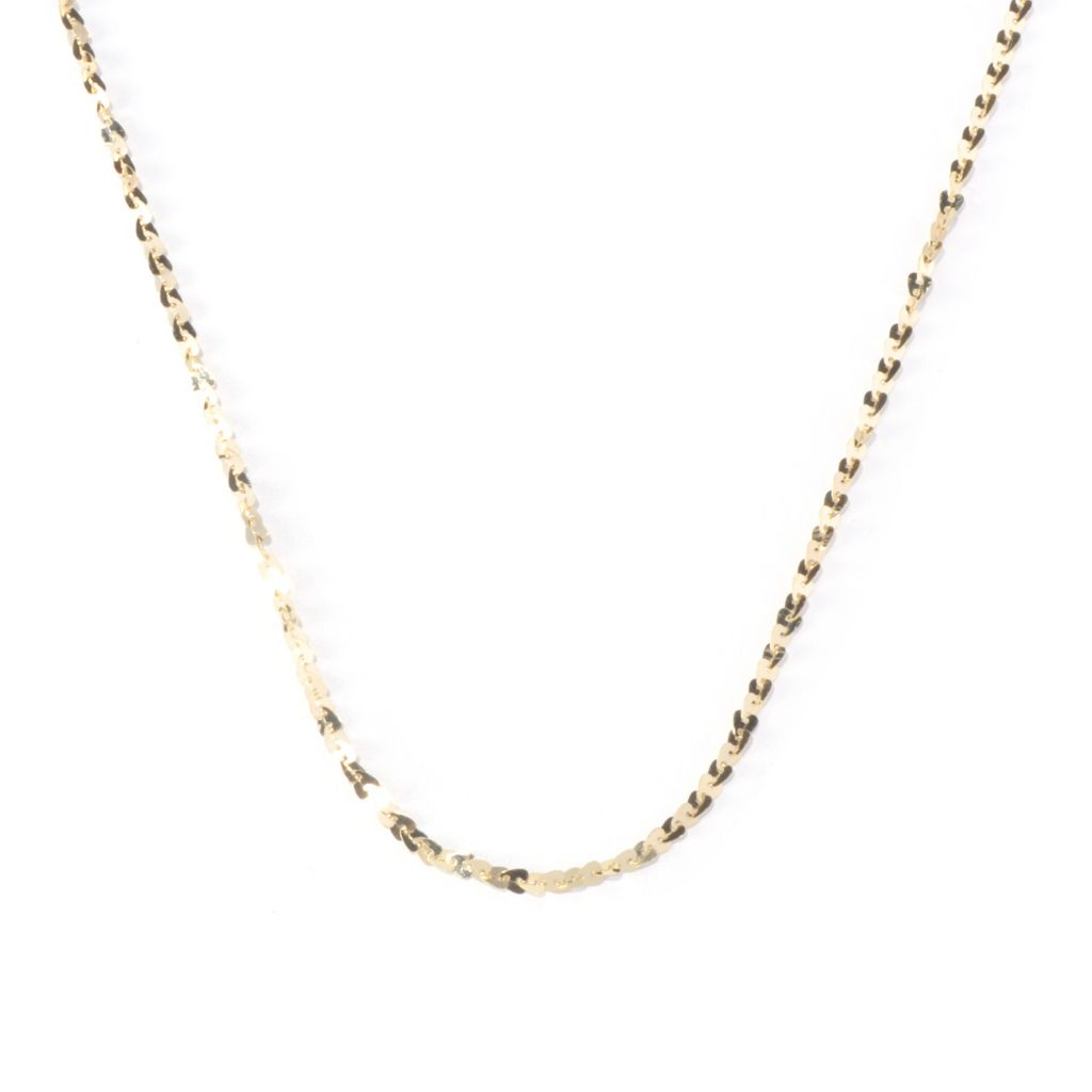 "130-136 - Scintilloro™ Gold Embraced™ 20"" Heart Chain ""Cuore"" Necklace"