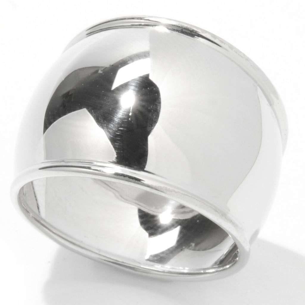 130-667 - Palatino™ Platinum Embraced™ High Polish Dome Ring
