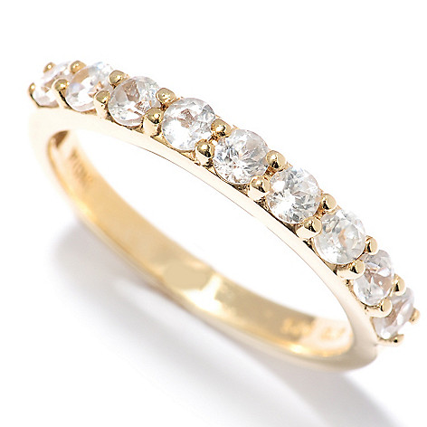 131-021 - NYC II White Zircon Nine-Stone Band Ring