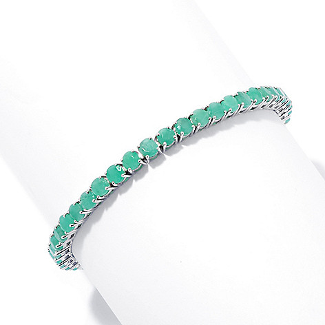 131-071 - NYC II 4mm Sakota Emerald Prong Set Tennis Bracelet