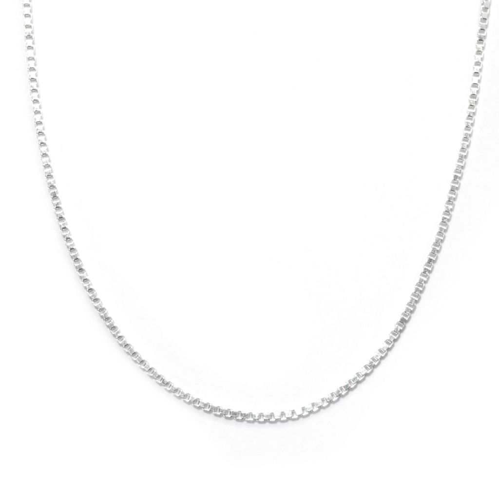 131-626 - Adaire™ Sterling Silver Box Chain Necklace