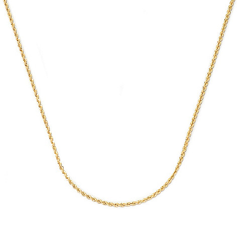 131-864 - Viale18K® Italian Gold 20'' Rope Chain Necklace, 2.4 grams