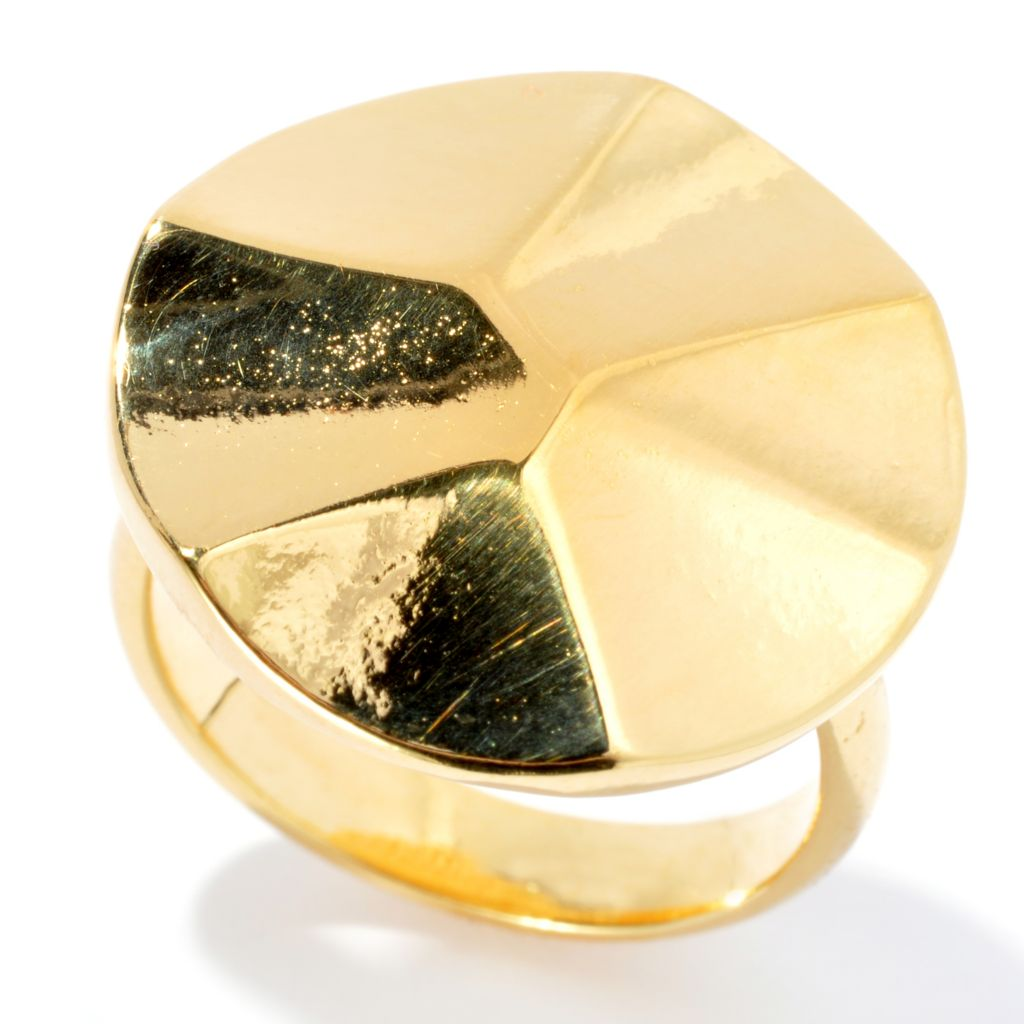 132-064 - Toscana Italiana Gold Embraced™ High Polished Round Ring