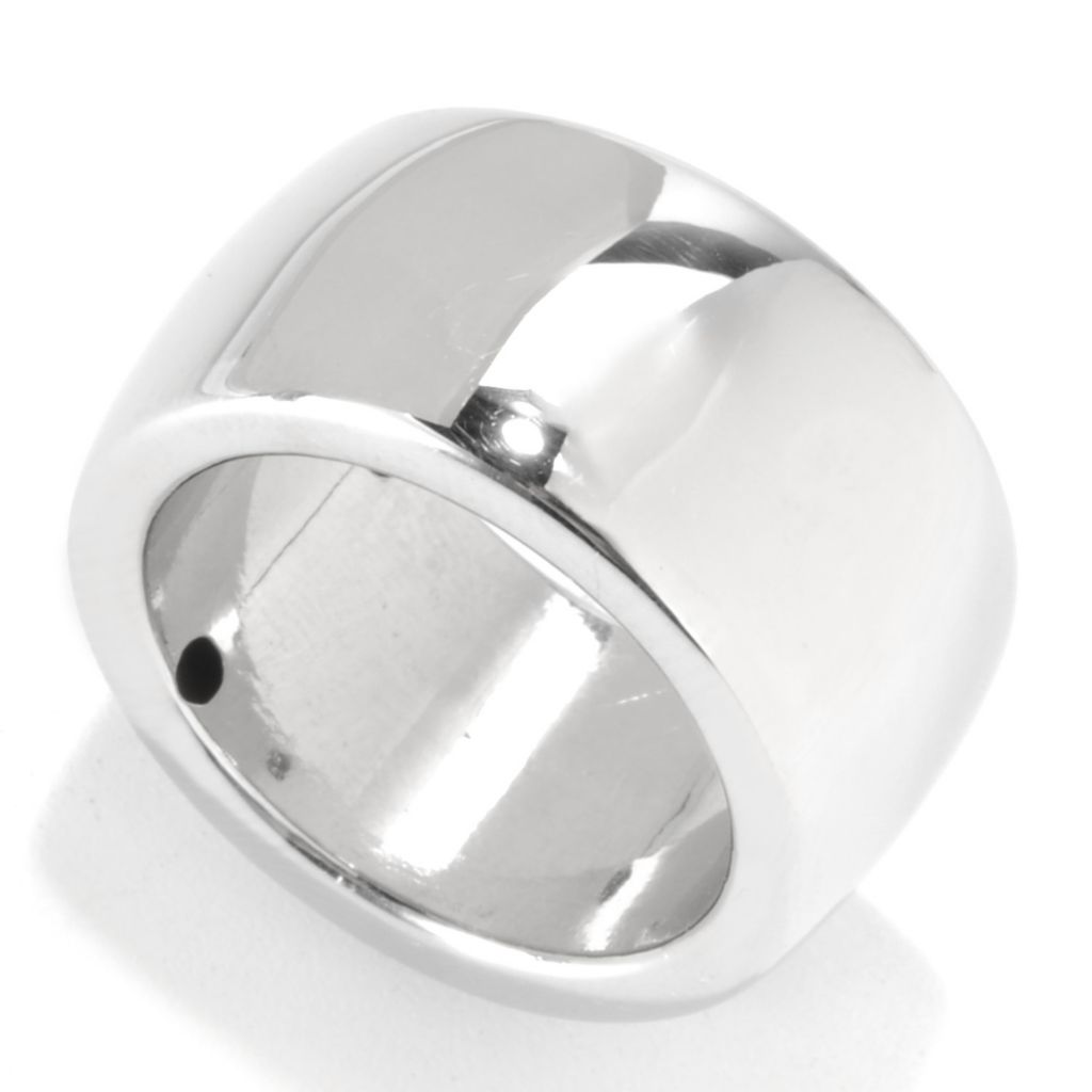 132-564 - Palatino™ Platinum Embraced™ Unisex Polished Wide Band Ring