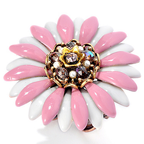 132-672 - Sweet Romance™ Crystal Center Daisy Ring