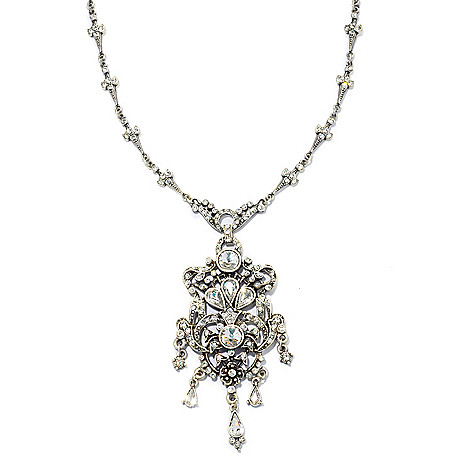 133-478 - Sweet Romance™ 22'' Crystal Drop Necklace w/ 3.25'' Extender