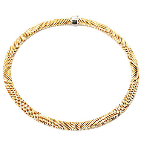 133-550 - Revalé™ 14K Bonded 18'' Mesh Necklace