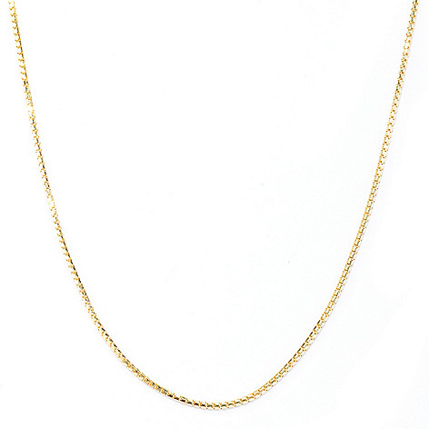 133-734 - Viale18K® Italian Gold 32'' Polished Chain