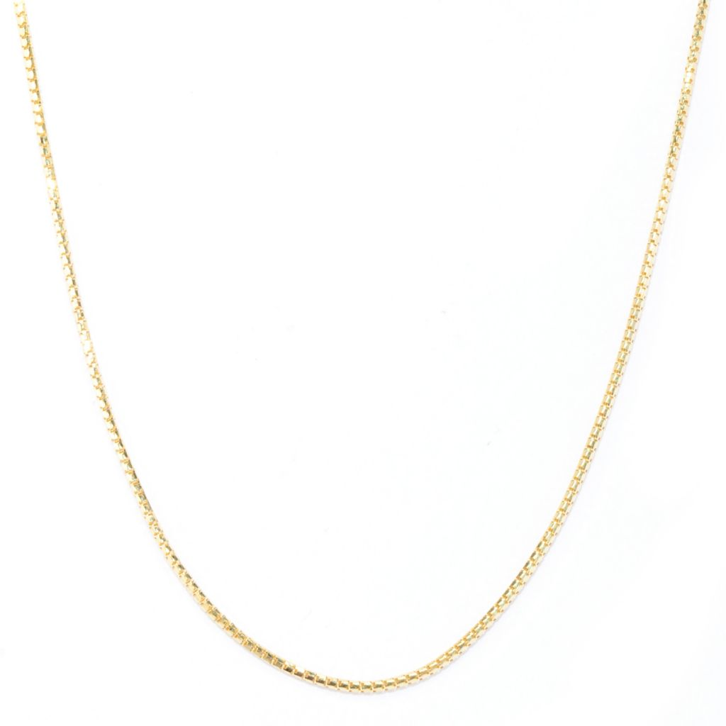 "133-734 - Viale18K® Italian Gold 32"" Polished Chain"