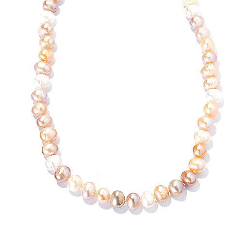 133-960 - 80'' 9-10mm Multi Color Freshwater Cultured Pearl Endless Necklace