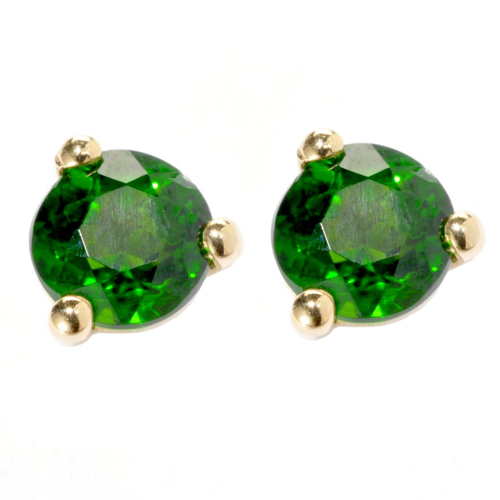 134-339 - NYC II 4mm Exotic Gemstone Martini Stud Earrings