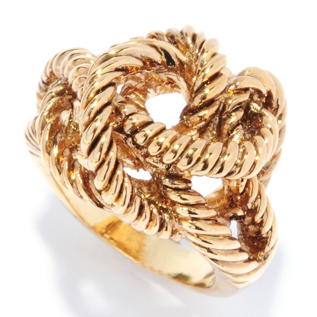 135-042 - Belle Artique™ Textured & Oversized Knot Ring