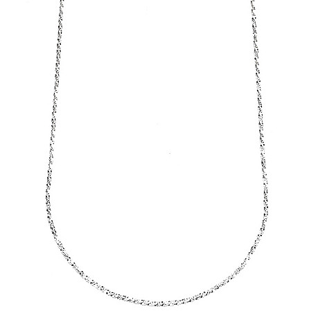 135-340 - Viale18K® Italian Gold Diamond Cut Chain Necklace