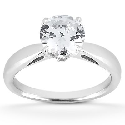 135-599 - Forever Brilliant® Moissanite 14K Gold 1.17 DEW Fancy Engagement Ring