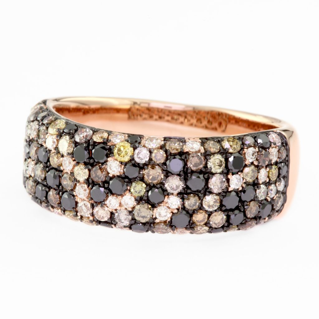 135-853 - Effy 14K Rose Gold 1.15ctw Diamond Confetti Ring