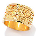 135-866 - Toscana Italiana Inspirational Cigar Band Ring