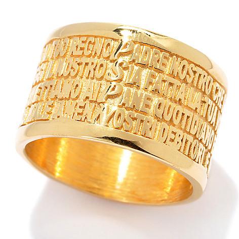 135-866 - Toscana Italiana Inspirational Cigar Band Ring