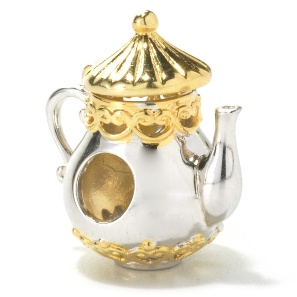 136-026 - Gems en Vogue II Teapot Slide-on Charm