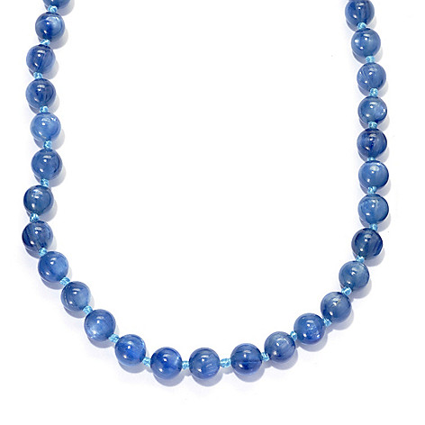 136-363 - Gems en Vogue 20'' Kyanite Bead Toggle Necklace