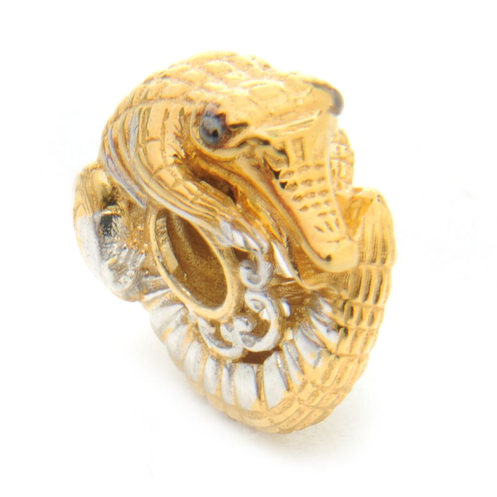 136-555 - Gems en Vogue II Sculpted Alligator Slide-on Charm