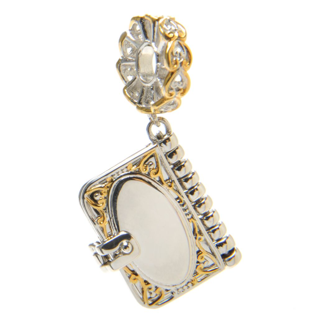 136-562 - Gems en Vogue Photo Album Drop Charm
