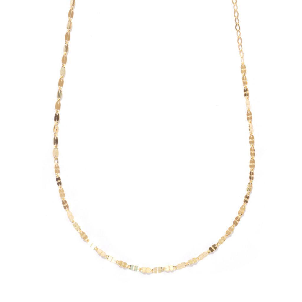 136-781 - Italian Designs with Stefano 14K Gold High Polished Sinfonia Necklace