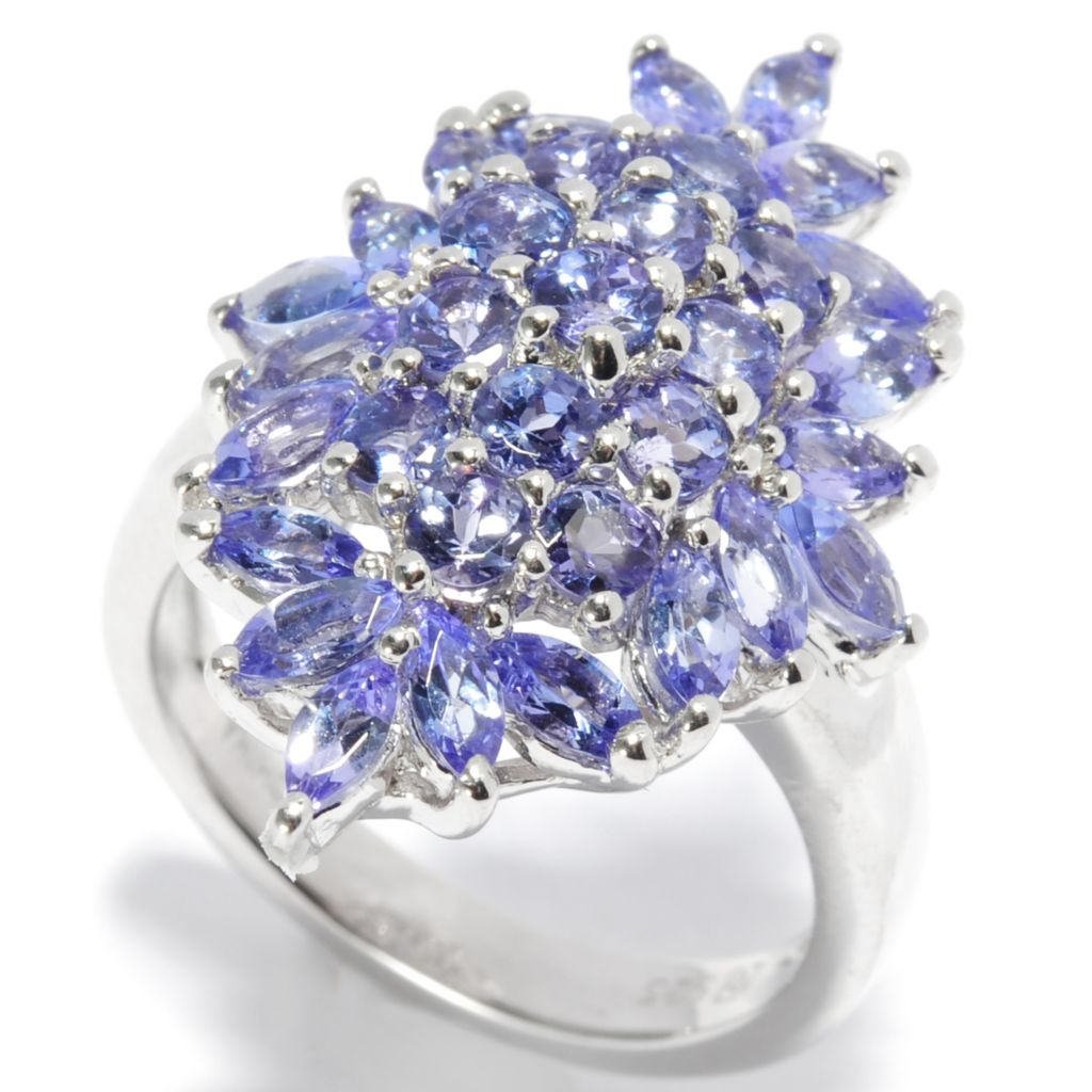 136-948 - Gem Insider Sterling Silver 2.04ctw Tanzanite Domed Marquise Ring