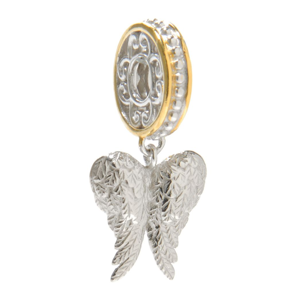 137-021 - Gems en Vogue Two-Tone Symbol Drop Charm
