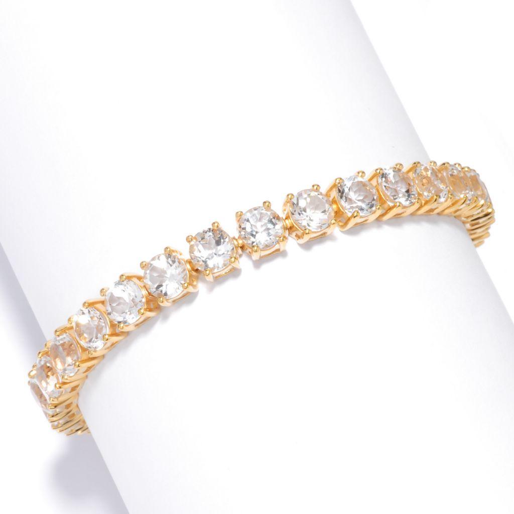 137-086 - NYC II Golconda White Topaz Tennis Bracelet