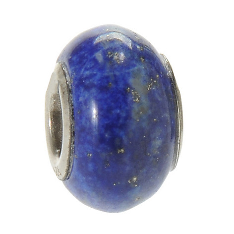 137-350 - Gems en Vogue 13mm Lapis Lazuli Slide-on Charm