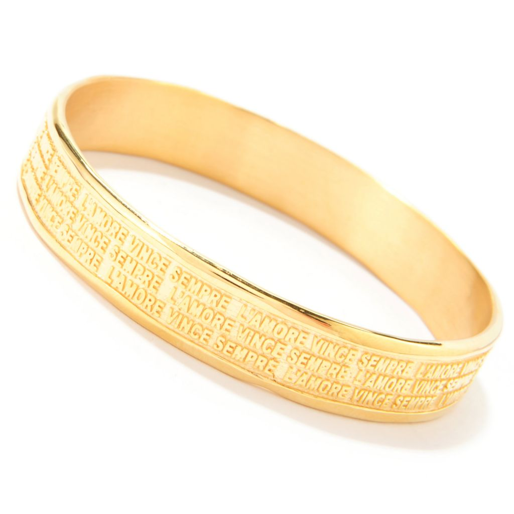 138-405 - Toscana Italiana Inspirational Slip-on Bangle Bracelet