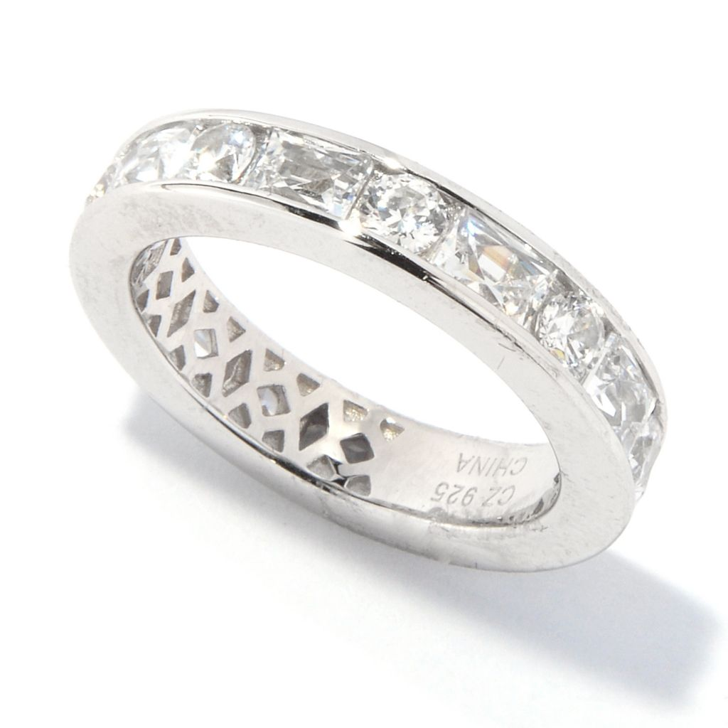 "139-233 - ""As Is"" TYCOON for Brilliante® Platinum Embraced™ 2.92 DEW Eternity Ring"