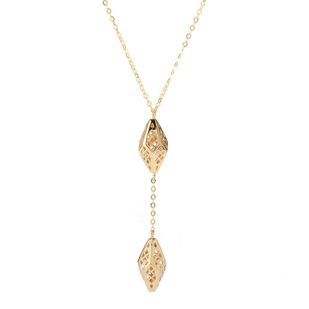 "140-939 - Italian Designs with Stefano 14K Gold 18"" Ricami Necklace, 3.61 grams"