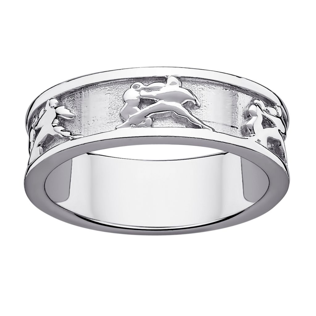 141-193 - Sterling Silver Zodiac Band Ring