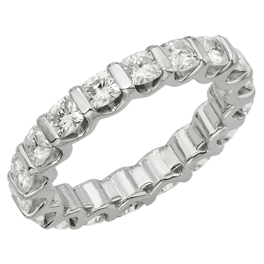 141-857 - Venazia™ Forever Brilliant® Moissanite 14K White Gold 1.80 DEW Eternity Band