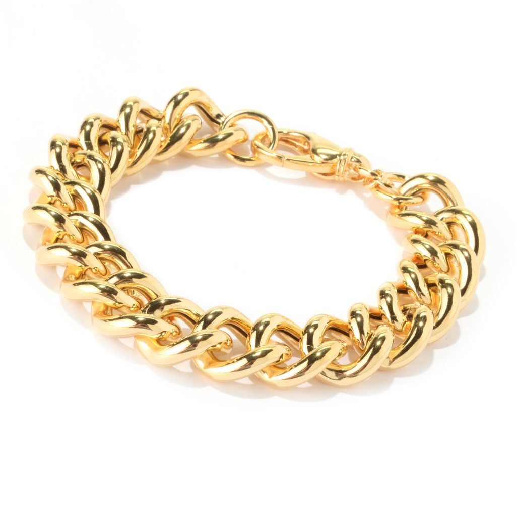 141-899 - Portofino Signature 16mm High Polish Curb Link Bracelet