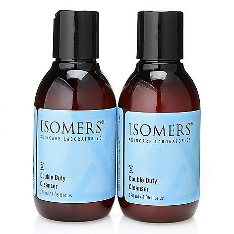 300-031 - ISOMERS Skincare Double Duty Cleanser Duo 4.06 oz Each