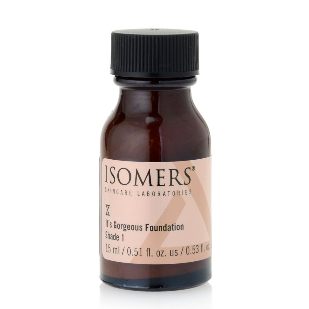 300-062 - ISOMERS® It's Gorgeous! Shade 1 Foundation 0.51 oz
