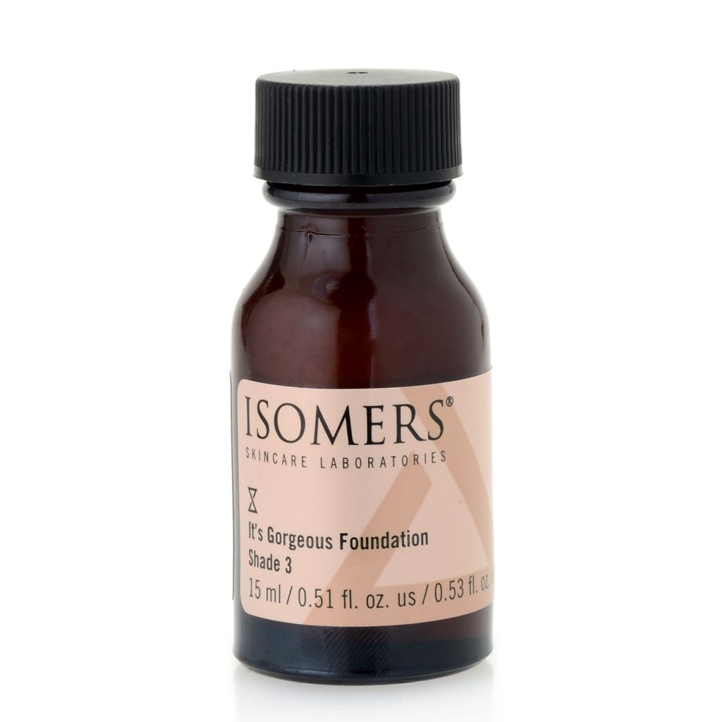 300-064 - ISOMERS® It's Gorgeous! Foundation Shade 3 .51 fl oz