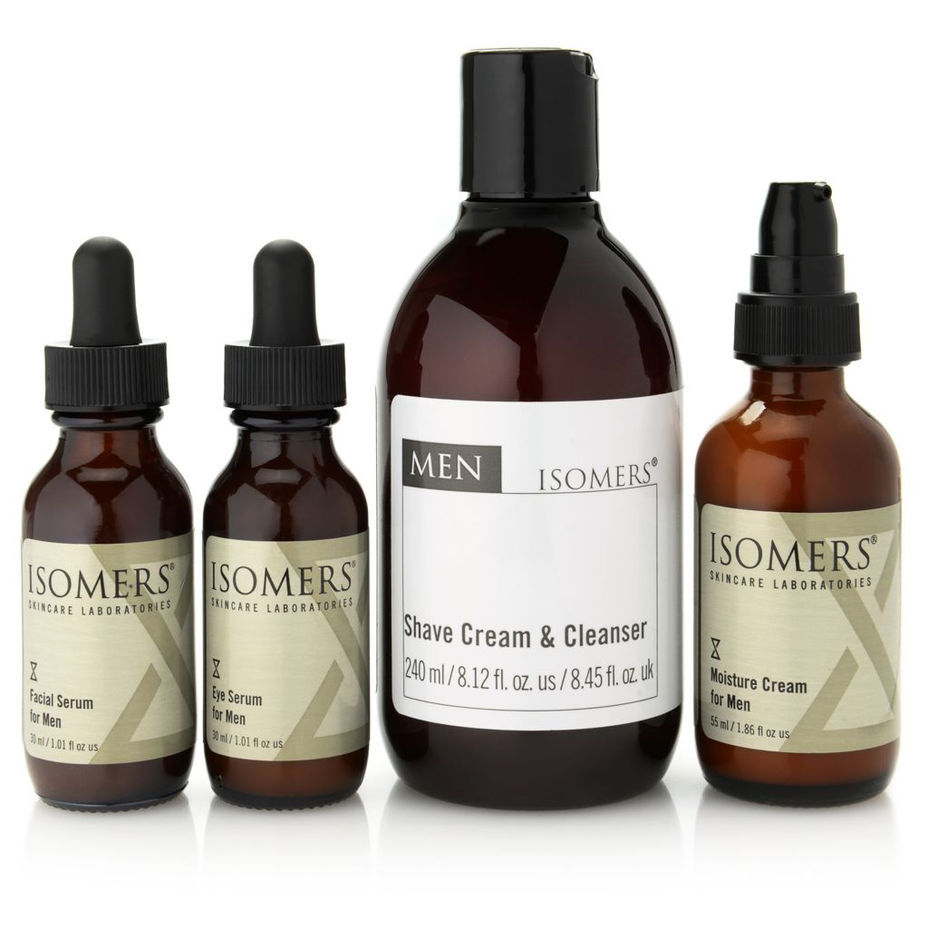 300-077 - ISOMERS® Men's Four-Piece Daily Essentials Skincare Collection